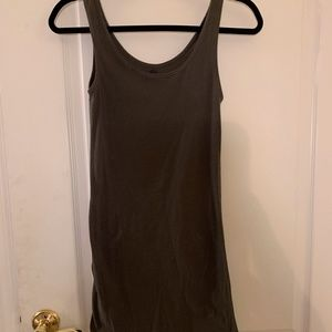 Cotton On Small Fitted Olive Green Dress